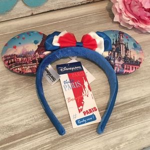 Minnie Mouse Ears from Disneyland Paris, France